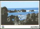 Portugal Entier Postal Açores Biscoitos Ile Terceira Volcanique Azores Postal Stationery Terceira Volcanic Island - Ganzsachen
