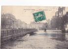 24603 PARIS Inondations 1910 Maximum De La Crue Au Pont D´ Arcole -CM 134 - - Inondations De 1910