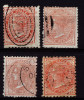 A3399) New South Wales 1 Penny Red Used With Plate Error In The Right Corner - 1850-1906 New South Wales