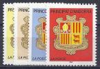 ANDORRA FRANCESA 2002 - Yvert #555/8 - MNH ** - Andorra Francese
