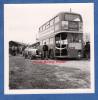Photo Ancienne - Lieu à Identifier - Bel Automobile Et Autobus Anglais De Londres - London Bus - Automobiles