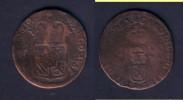 PAYS-BAS ESPAGNOL - BRABANT - CHARLES II 1665-1700 - LIARD 1691 - Pays Bas Espagnols