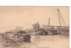 24606 Bruxelles Brussel Belgique -travaux Maritimes -peniche Schip Bateau Cghargement - Sans Ed - Péniches