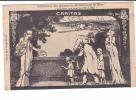 """24620 NICE Fédération Des Oeuvres De Bienfaisance """"Caritas"""" -dessin René Roussel -charité Pauvre Pain - Nice"""