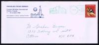 1982  Richelieu International Congress, Ottawa  Mailed From House Of Commons - Cartas