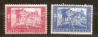 Belgie Belgique 1954 OCBn° 959-60 (°) Used Cote 17,00 Euro - Belgien