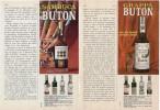 1969 - BUTON (sambuca Grappa Cherry)  -  3  P.  Pubblicità Cm. 13,5 X 18,5 - Altre Collezioni