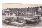 24623 Environs De TOULON - MANTEAU - Le Pont Et Le Château Michel-Pacha -embarcadere Vapeur Ferry- 3 LL - Bateaux