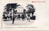 S.M. LA REINE ET S.A.R. LA PRINCESSE CLEMENTINE PALAIS DE SPA Karte Um 1900 - Spa