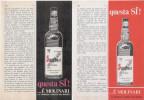 1969 - Sambuca MOLINARI  -  3  P.  Pubblicità Cm. 13,5 X 18,5 - Altre Collezioni