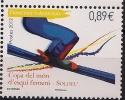 2012 Andorra Fr.. Mi. 740**MNH  Weltcup-Skirennen Der Frauen, Soldeu - French Andorra