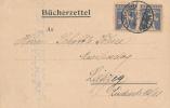 ST. GALLEN - 1924 , Bücherzettel - Interi Postali