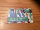 "Ticket de bus CGFTE PASS ""PASS CHARDON"" Type 1 - 1999 Nancy (54)"