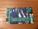 "Ticket de bus CGFTE PASS ""PASS CHARDON"" Type 2 - 2002 Nancy (54)"