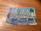 "Ticket de bus CGFTE PASS ""Pass U"" type 2 - 1999 Nancy (54)"