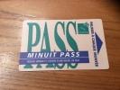 "Ticket de bus CGFTE PASS ""MINUIT PASS"" type 2 - Nancy (54)"
