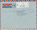 Kuwait registered cover sent to Netherlands 15-11-1964