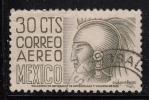 Mexico Used Scott #C210 30c Cuauhtemoc - Watermark Inverted - Mexique