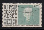 Mexico Used Scott #C297 10p Miguel Hidalgo - Mexique