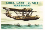 Cant Z-501 Hydravion 'Gabbiano'   -  Brovarone Art Card  -  CPM - 1919-1938: Entre Guerras