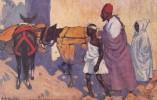 Morocco Typical Roadside Scene Tucks