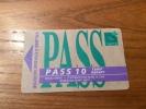 "Ticket de bus CGFTE PASS ""PASS 10 tarif r�duit"" type 3 - Nancy (54)"