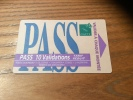 "Ticket de bus CGFTE PASS ""PASS 10 Validations tarif r�duit"" Nancy (54)"