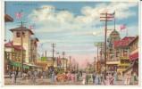 Coney Island New York, Surf Avenue Street Scene, C1900s Vintage Hold To Light Postcard - Hold To Light