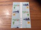 "Ticket de transport (Bus, Tramway) Stan Cgfte ""PASS 10 TR RU"" Nancy (54)"