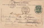 Carte Montreux Imprimé Pour La France 1901 - 1882-1906 Armarios, Helvetia De Pie & UPU