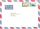 ISOLA DI MAN - Isle Of Man - 1998 - Airmail - Cat + Royal Viking Sky - Flamme Collect Isle Of Man Stamps - Viaggiata ... - Isola Di Man