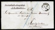 A3400) NPB Dienstsachebrief Von Oppeln 6.12.1870 Nach Radzionkau