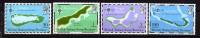 Ocean Indien **  N° 82 à 85 - Cartes Des Iles  - - Seychelles (1976-...)