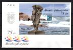 """ALAND 1997 : Enveloppe 1er Jour : """" ALANDS SJALVSTYRELSE """". BF N° 3. FDC - Aland"""