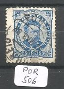 POR Afinsa  58 Papier Porcelana Dentelé 11 1/2 - 1862-1884: D. Luiz I.