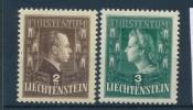 Liechtenstein Nr. 238-9     *  (ff5043 ) Siehe Scan ! - Liechtenstein