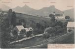 AK Böhmische Schweiz Dittersbach Jetrichovice Kirche Gasthof ? Marienfelsen Rabenstein Falkenstein Stempel Bei Kreibitz - Sudeten