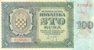 Croatia 100 Dinar 1941 Pick 2 UNC - Croatia