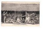 CONGO - Mission Catholique BRAZZAVILLE: Un Commerçant D'ivoire Installé à Côté De La Mission - état (étiquette Au Dos) - Brazzaville