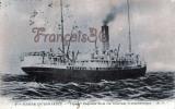 Marine De Commerce - Figuig Paquebot De La Compagnie Générale Transatlantique - 2 SCANS - Commerce