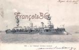 Marine De Guerre Militaire Française - Le Chanzy Croiseur Cuirassé 1904 - 2 SCANS - Guerra