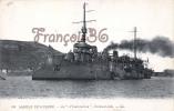 Marine De Guerre Militaire Française - Le D'Entrecasteau Entrecasteaux Bâtiment école - 2 SCANS - Guerra