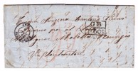 Heimat Tessin Locarno 9.7.1863 AK-St. Brief Aus Buenos-Aires Transit-St. London Und Paris - Buenos Aires (1858-1864)