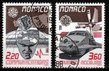 Monaco Mi 1859,1860 Europa Cept  Gestempeld  Fine Used Koopje!! - Europa-CEPT