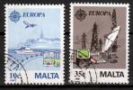 Malta Mi 794,795  Europa Cept  Gestempeld  Fine Used Koopje!! - Europa-CEPT