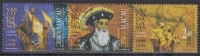 Macau MiNr. 965/67 I ** 500. Jahrestag Der Entdeckung Des Seeweges Nach Indien - 1999-... Sonderverwaltungszone Der China