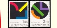 Liechtenstein 1222/23** Hommage Au Liechtenstein  MNH