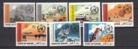 Qatar 1973,7V,complete Set,W.M.O.,boat,car,planerocket,aerospace,ruimtevaart,luft Und Raumfahrt,MNH/Postfris(A1839) - Autres