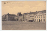 Poperinge, Poperinghe, Noordkant Markt en Ingang Gasthuisstraat (pk23893)