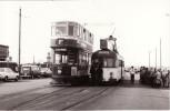 Tram Photo Bolton 66 Blackpool Corporation Tramways Brush 623 Fleetwood Ferry - Trains